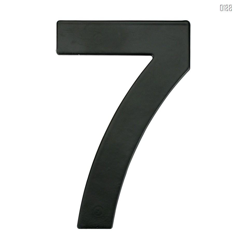 6 inch 145mm Big Modern House Number Hotel Home Door Room Number Outdoor Address Plaque Iron