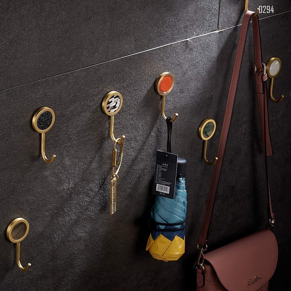 Nordic Decorative Hooks/ Pearl Shells Brass Wall Hooks/ Coat Hooks/ Bathroom Kitchen Towel Hooks/ Hat Hangers Bag Hooks/ Decorative Hooks Black