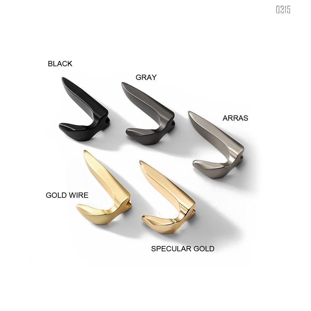 Gray New high-end simple single coat hook Nordic Light luxury gold kitchen bathroom hook fitting room hook
