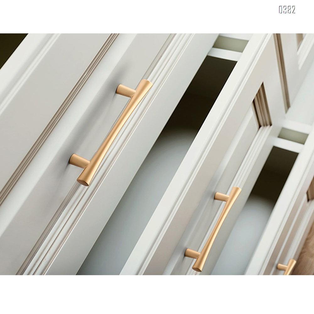 Plated Brushed Cabinet Pulls Matte Black Zinc Alloy Kitchen Cupboard Handles Cabinet Handles 192 mm Hole Center
