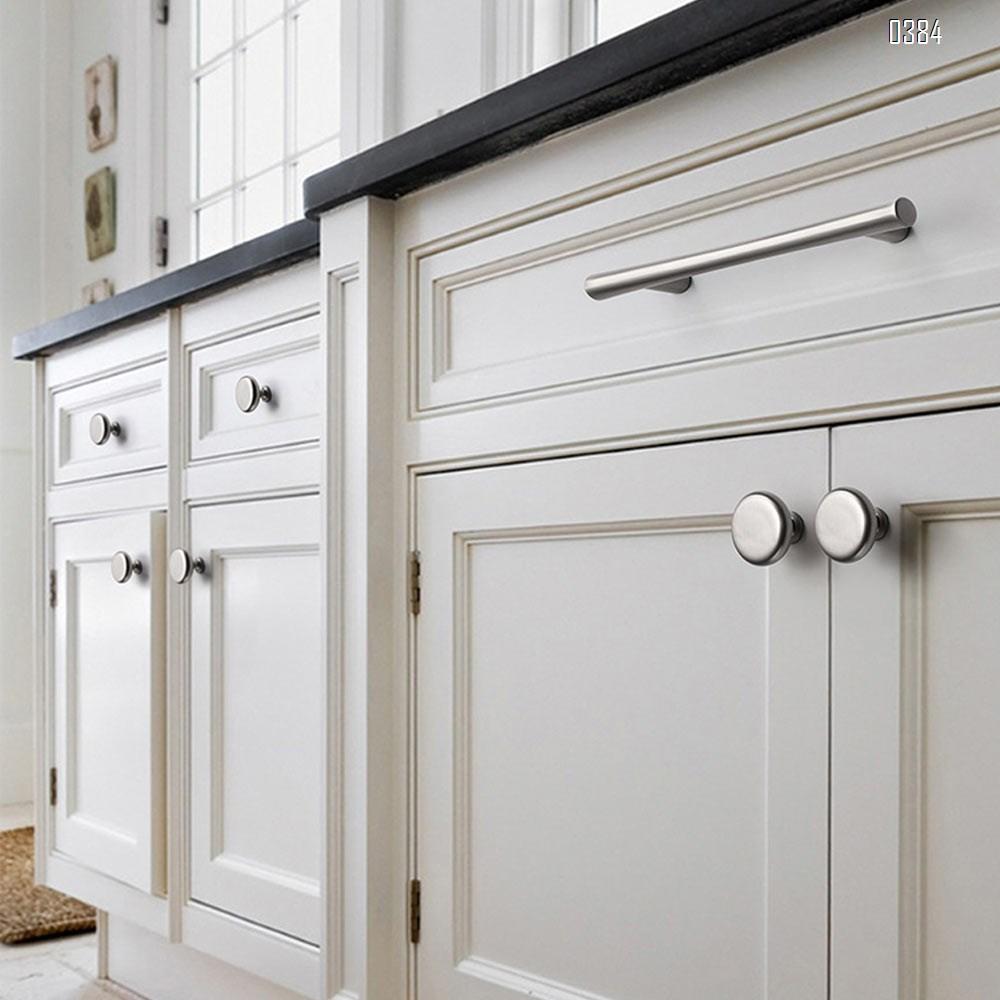 Plated Brushed Cabinet Pulls Matte Black Zinc Alloy Kitchen Cupboard Handles Cabinet Handles 96 mm Hole Center