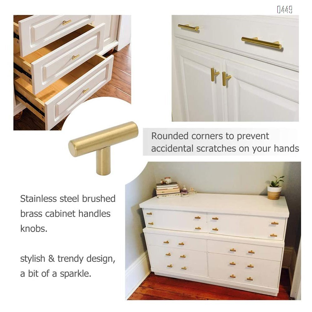 Black And Gold Cabinet Knobs Drawer Knobs Door Cupboards Drawers Bedroom Furniture Handles 50mm Long Single Hole Knobs