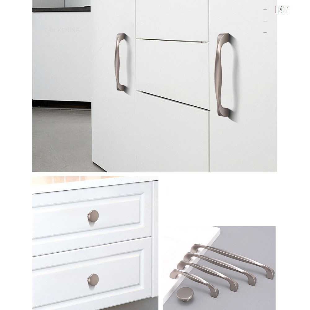 Solid Round Kitchen Cabinet Knobs Pulls (1-1/4 inch Diameter) - Dresser Drawer/Door Hardware