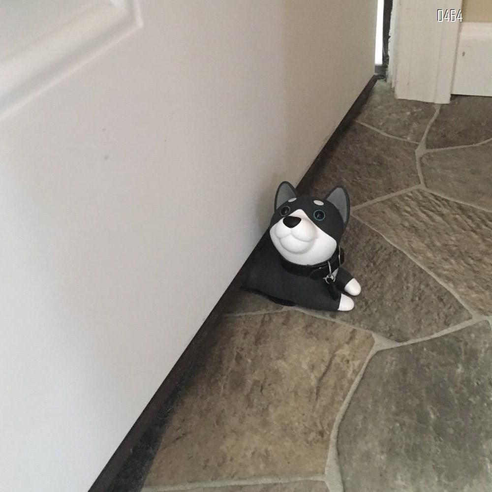 Door Stop, Cute Dog Door Stopper Husky Door Stop Decorative Door Stopper Animal Door Wedge