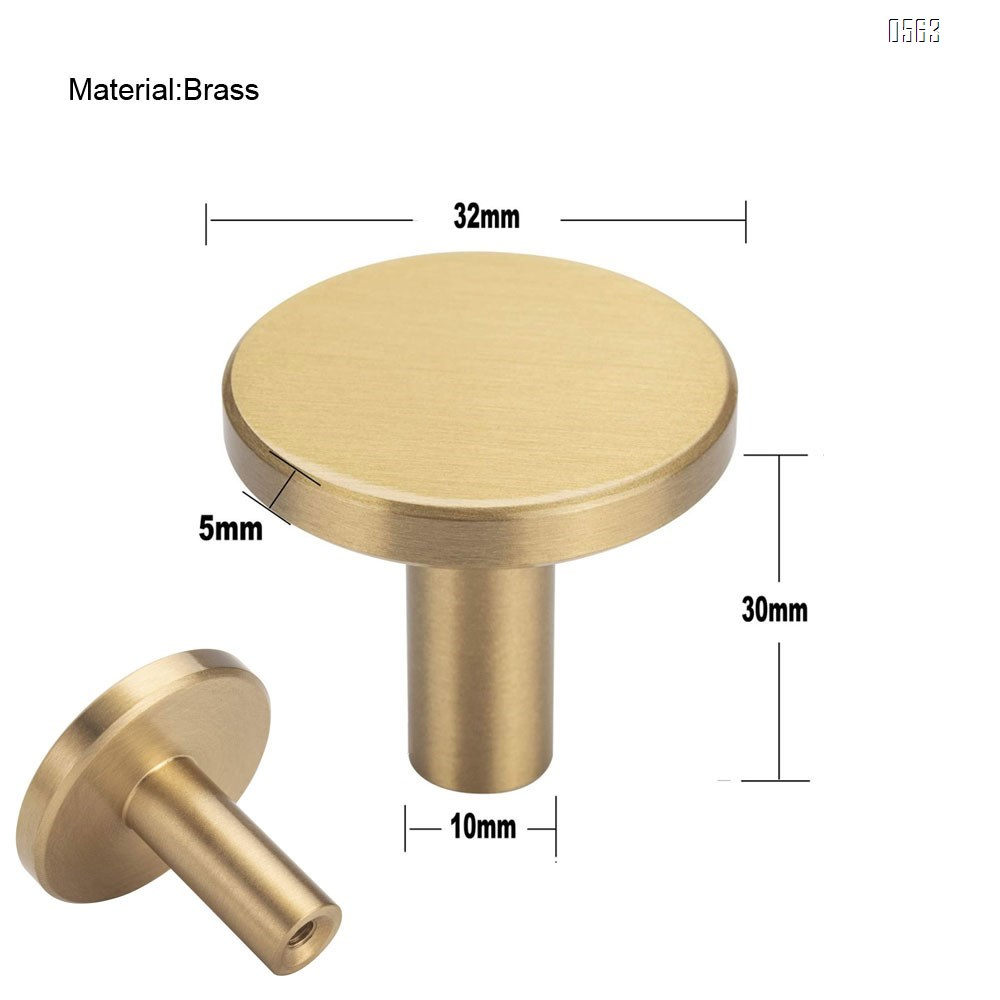 Round Brushed Brass Decorative Wall Hooks for Bathroom,Lavatory,Clothing Store, Hotel, Cafe,Hat,Towel Coat Hook Hangers Wall Mounted