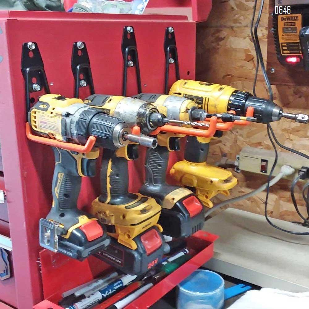 U Small Garage Hooks Heavy Duty , Steel Garage Storage Hooks, Tool Hangers for Garage Wall Utility Wall Mount Garage Hooks and Hangers with Anti-Slip Coating for Garden Tools, Ladders, Bulky Items