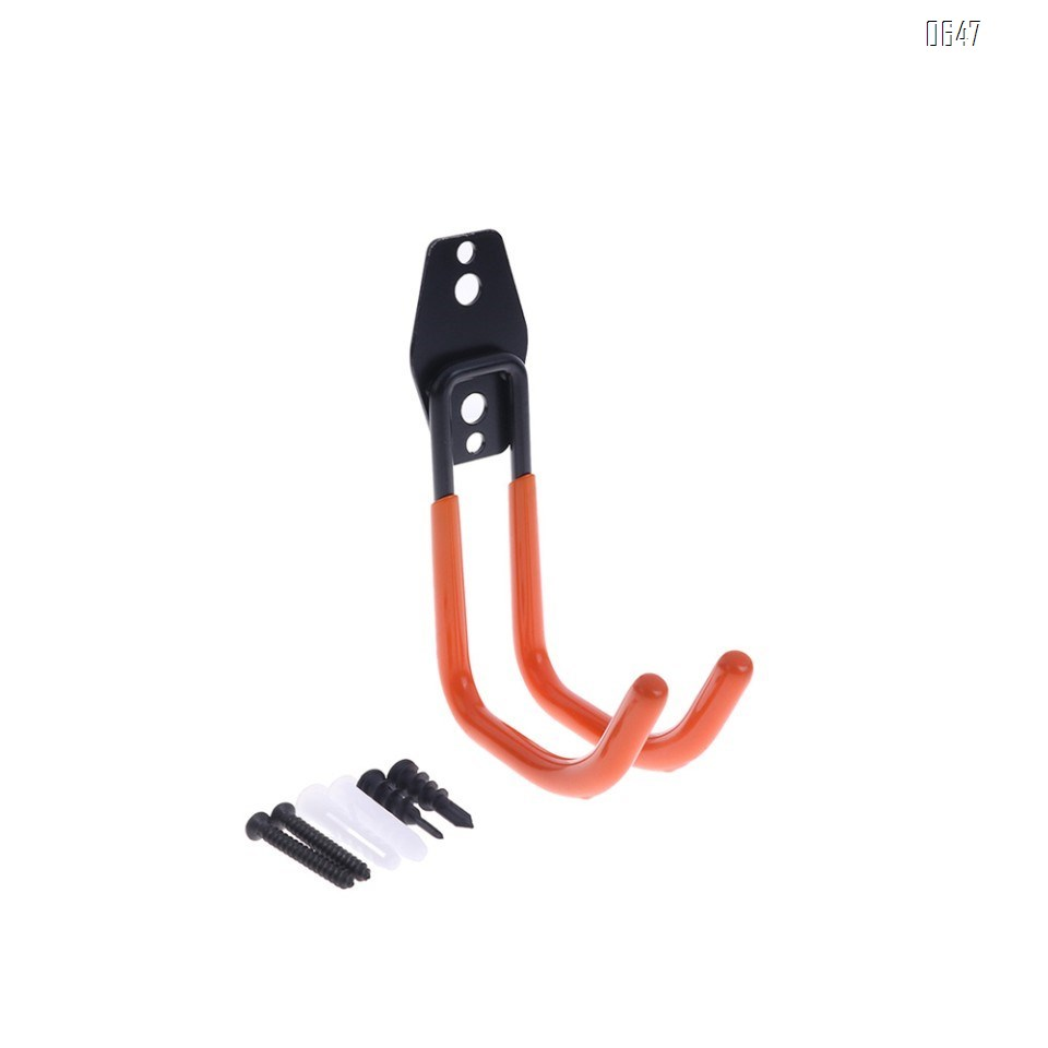 Garage Hooks , Sturdy Ladder Hooks, Bike and Tool Hangers for Garage Wall, Easy to Install